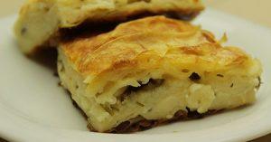 Basit Peynirli Börek