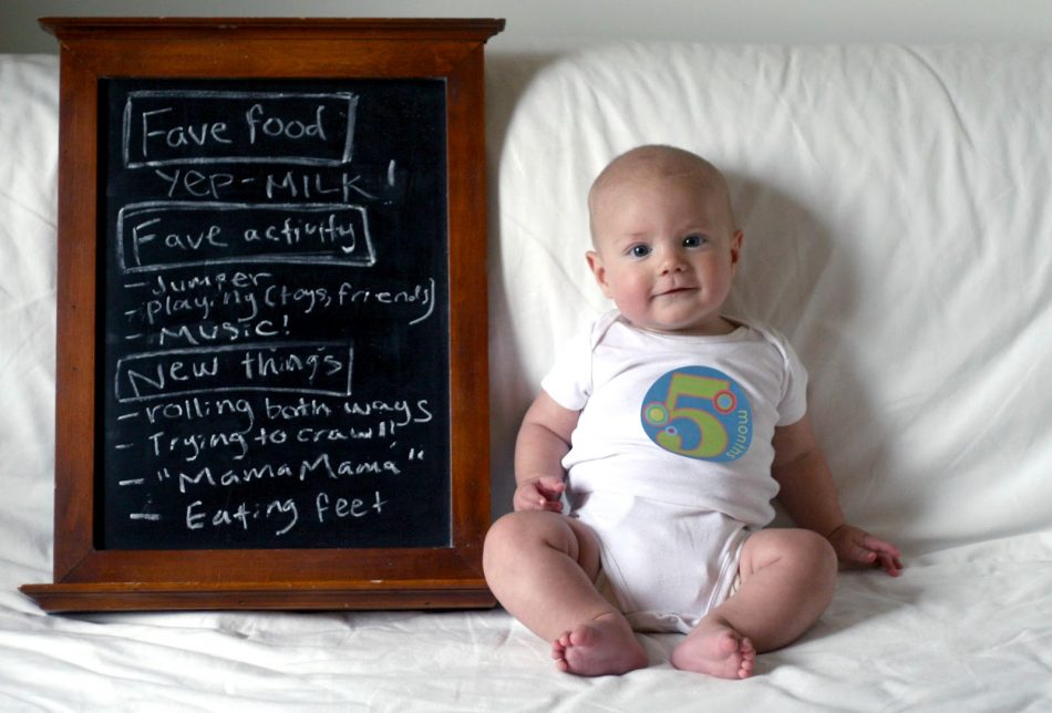5 Aylık Bebek Gelişimi