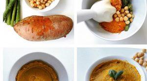 Kuşkonmaz, Nohut ve Patates Püresi Tarifi