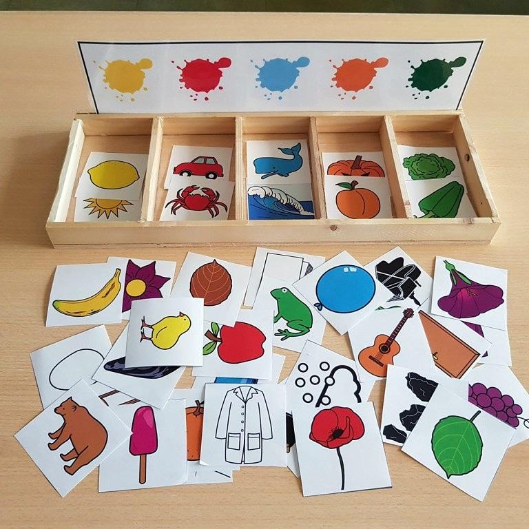 Renkleri Öğreniyorum Aktivitesi Okul Öncesi