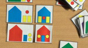 Okul Öncesi Geometrik Şekiller Aktivitesi